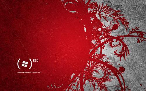 Red Desktop achtergrond