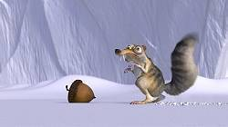 Scrat with his acorn