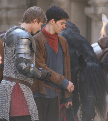 Series 3 filming - merlin-on-bbc Photo