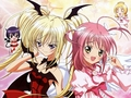 Shugo Chara Amu and Utau [Amulet angel,Amulet Devil]