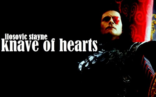 Ilosovic Stayne, Knave Of Hearts wallpaper entitled Stayne, Knave Of Hearts