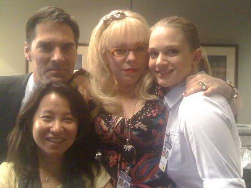 The Hotch and the Blonde KV and the AJ and the Oahn Lee writer