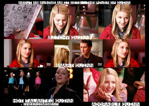 The Power of Quinn - A Quinn Fabray picspam (1x15)