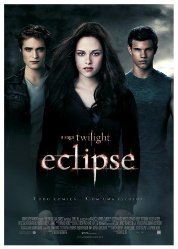 The Twilight Saga: Eclipse Portuguese Poster