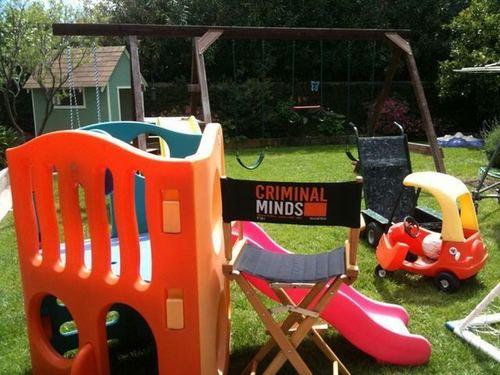 Thomas Gibson's new playground on the set