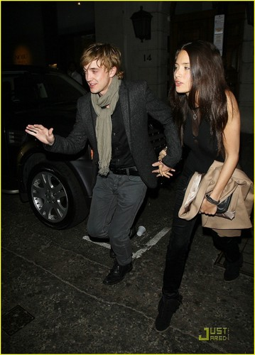 Tom Felton & Jade Olivia: Night Out at Nobu