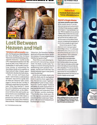 Tv Guide - Latest Tidbits about Jacob