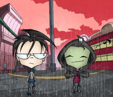 XxDib And Zim In The RainXx <3