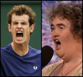 andy murray and susan - susan-boyle photo