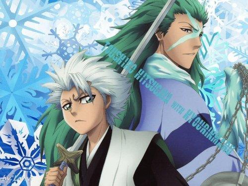 hitsugaya and hyourinmaru <3
