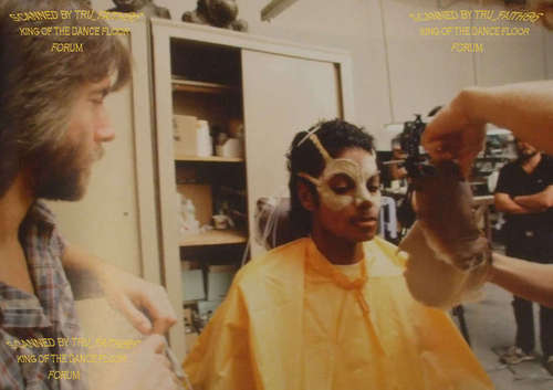 making of thriller...