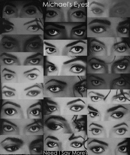 mj's eyes