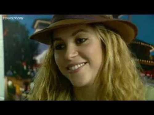 rafa hair and amorous Shakira !
