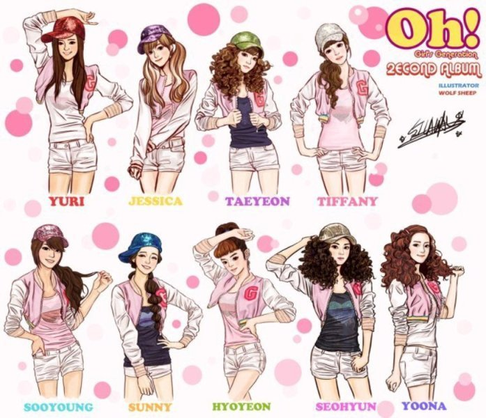 Girls' Generation Names