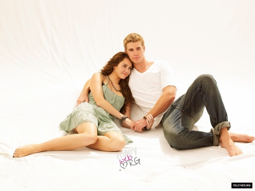 Miley Cyrus wallpaper titled the last song miley & liam