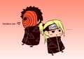 tobi and deidara <3