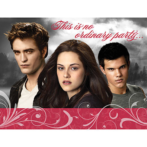New Eclipse Promo Pictures on Party Supplies