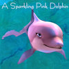 barbie in mermaid tale photo called A Sparkling Pink Dolphin