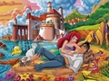disney-couples - Ariel and Eric wallpaper