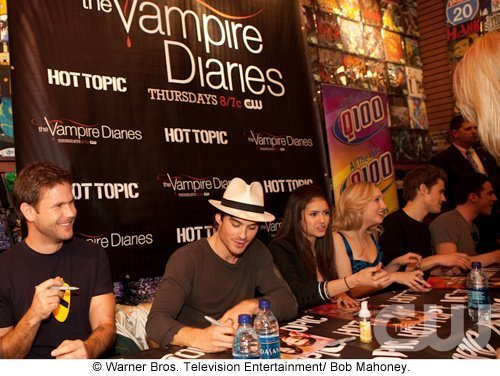 Atlanta Cast Tour Event - the-vampire-diaries photo