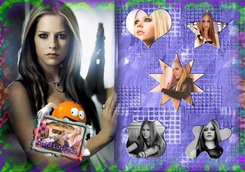 Avril lavigne, edited mga litrato