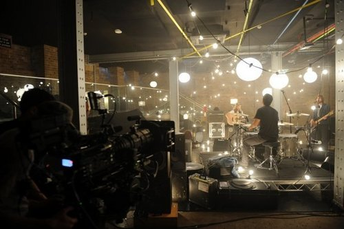 Behind The Scenes pics from Love Is An Animal video shoot!