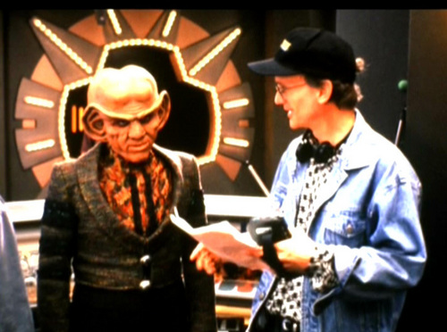 estrella Trek: Deep el espacio Nine fondo de pantalla entitled Behind The Scenes