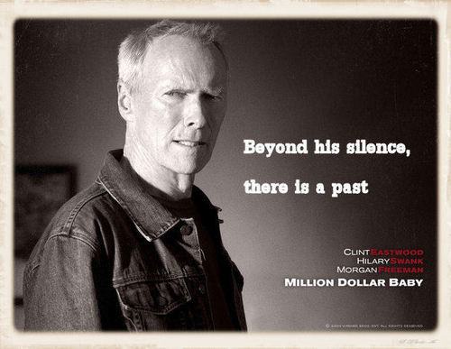 Beyond his silence ...