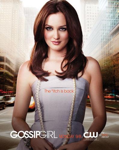 Blair Waldorf Season 3 Poster