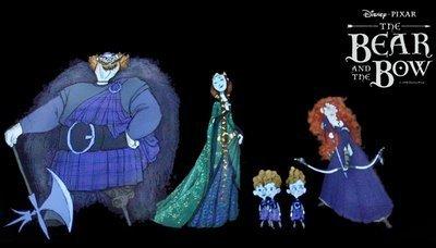 Merida - Legende der Highlands Character Lineup