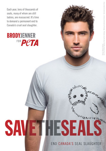 Brody Jenner for PETA