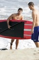 Brody surfing in Malibu - brody-jenner photo