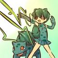 Bulbasaur and trainer
