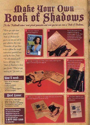 Charmed 9º magazine