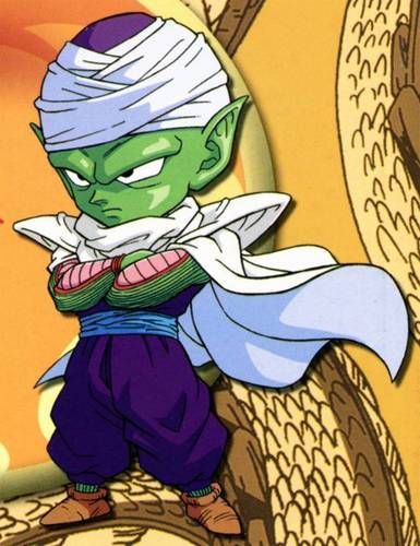 dragon ball z wallpaper entitled chibi Piccolo