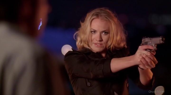 Yvonne Strahovski Chuck Screencaps Chuck 1x01 - Yvonne St...