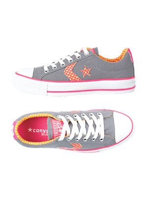 Converse Plaid Chevron Ox