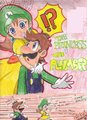 Daisy and Luigi - luigi-and-daisy fan art