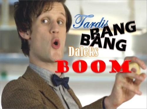 Daleks boom