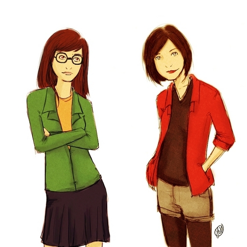 Daria & Jane - daria Fan Art