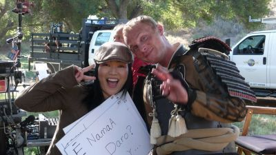David Anders,heroes,Behind the Scenes
