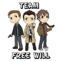 Dean, Castiel, and Sammy - Team Free Will - team-free-will photo