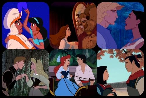 Disney Couples wallpaper titled Disney Couples