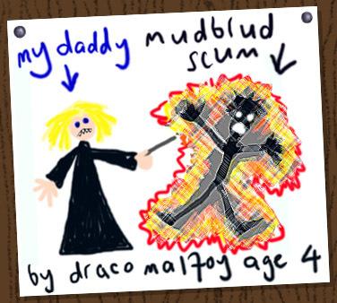 Draco Malfoy: Age 4