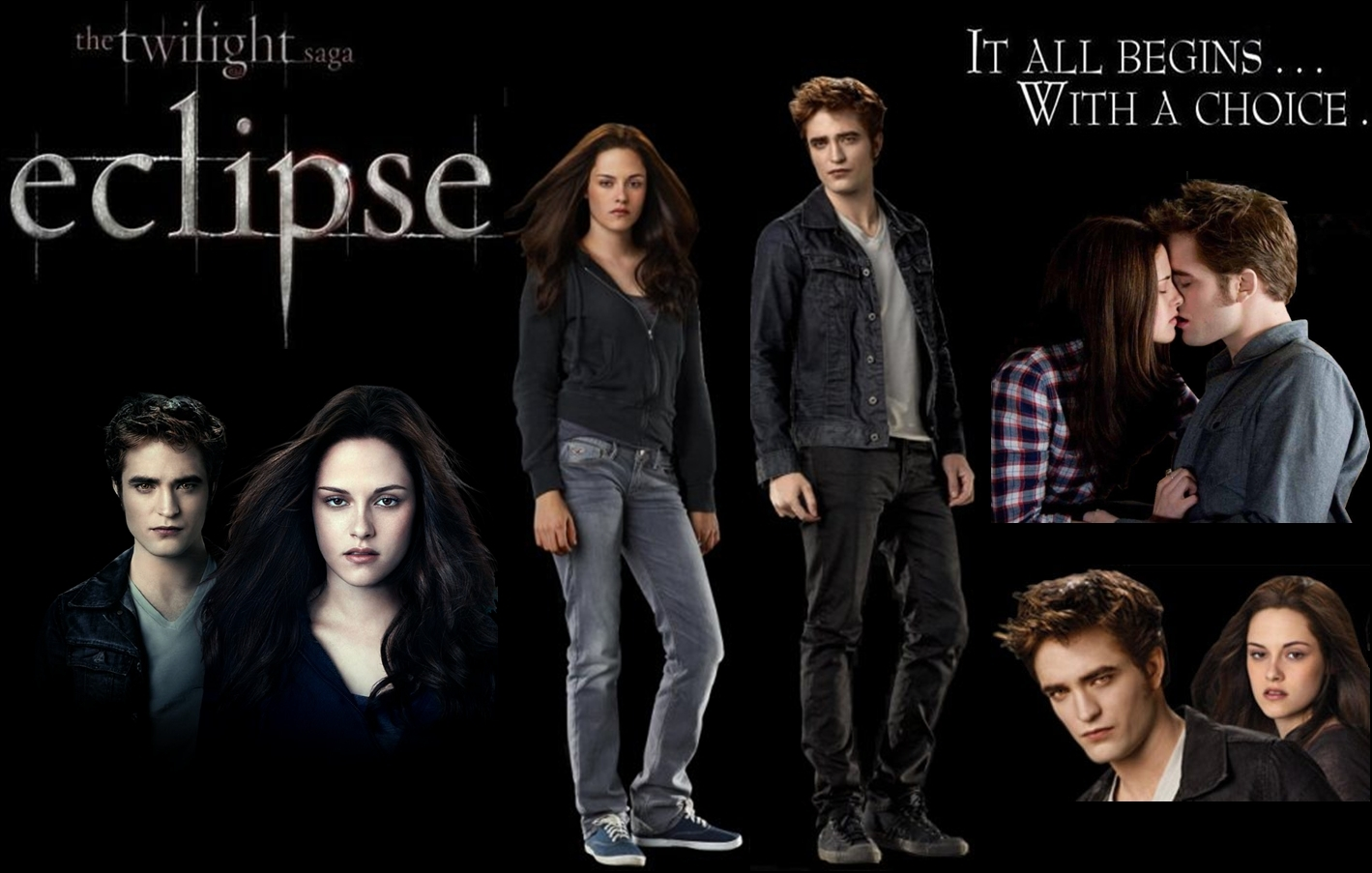 Eclipse - Edward/Bella Обои