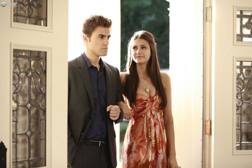 Stefan & Elena wallpaper called Elena & Stefan