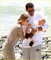Ellen Pompeo: Stella is a Beach Baby!