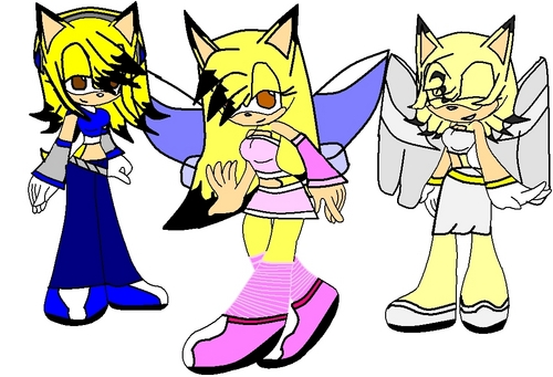 Sonic the Hedgehog wallpaper titled Eva's Forms