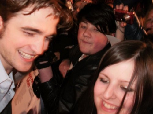 peminat pic's of Rob at the Remember Me Premiere