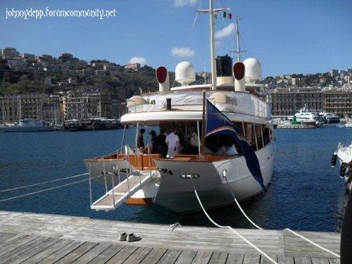 Getting Onto Johnny Depp's perahu